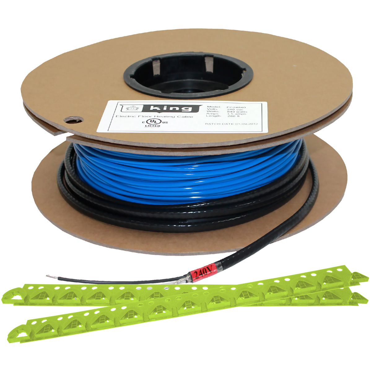 King Electric Model Fc 240 Volt Cable